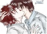 boy kiss .....