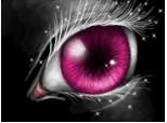 magic pink eye ...