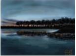 seara...pe lac...
