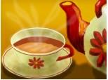 la o ceasca de ceai
