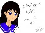 anime girl din imaginatie