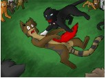 Tigerclaw\ s death...