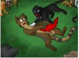 Tigerclaw\ s death...