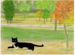 Canicula,in parc