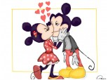 Mickey & Minnie Mouse Love