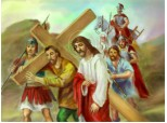 Calea Crucii...starea a V-a...