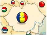 Harta Romaniei Mari.La multi ani, Romania!