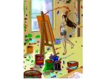 Cand inspiratia, talentul se intalneste in culori, se nasc opere de arta
