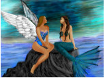 Angel and Mermaid