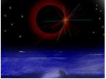 eclipsa deasuprea norilor