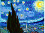 starry night a lui van gogh