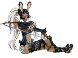 Fran (viera warrior) from FF XII
