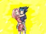 Desen 81087 modificat:sasuke  sakura
