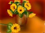 citeva flori ale soarelui