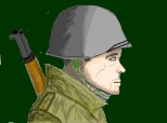 American Soldier from World War 2
