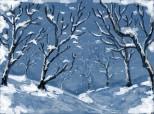 ...cit de frumos ninge!...