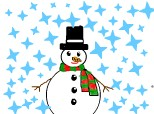 snow men by Christmas!