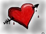 O sageata in inima
