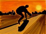 skateboard la cerere