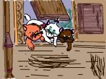 Marie si fratii ei (din pisicile aristocrate)