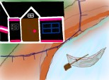 casa pe malul raului