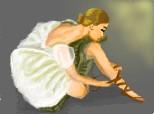 Desen 82891 continuat:balerina