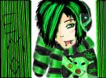 ...emo green boy...